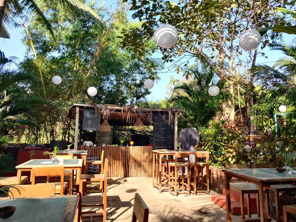 Cafe Area, Wigwam, Goa