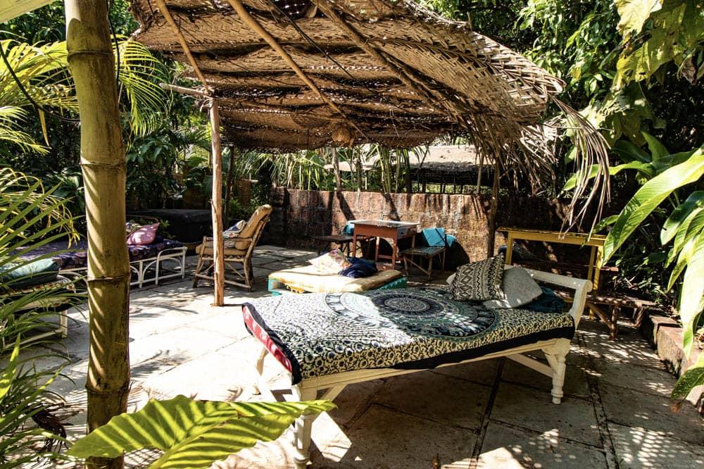 Chill Area, Wigwam, Goa