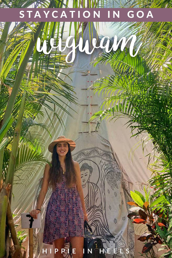 Need a cute place to stay in Goa? Check out the unique tipis and cottages at Wigwam!