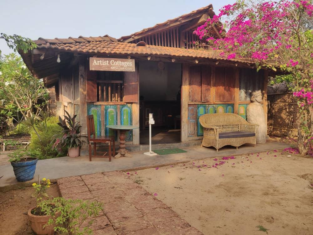 Artist Cottages, Morjim, Goa