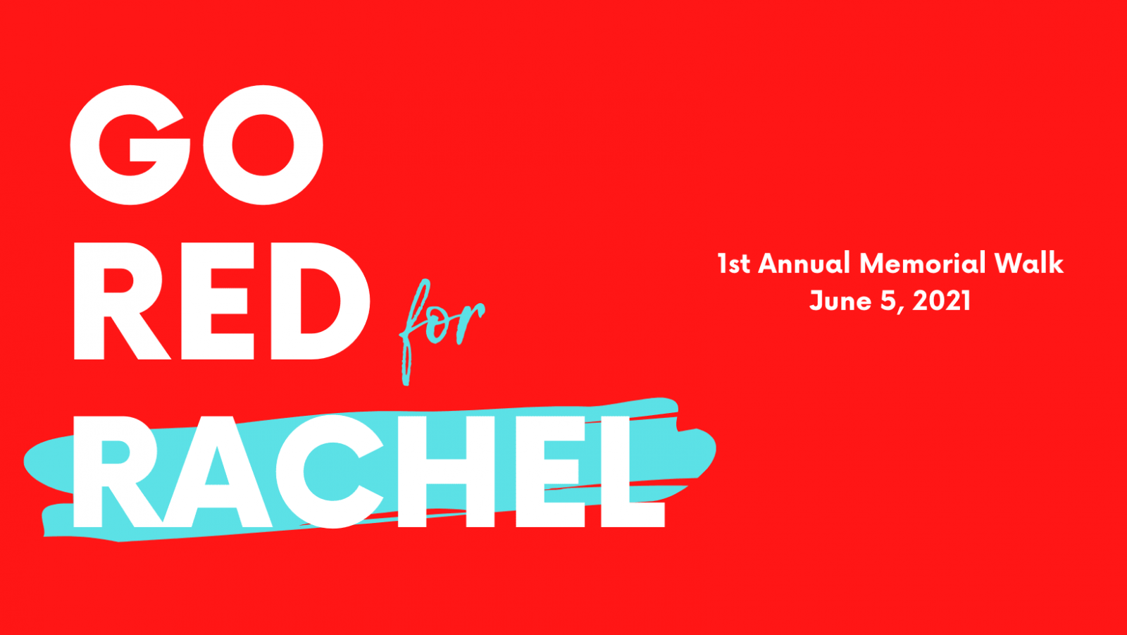 Go Red for Rachel