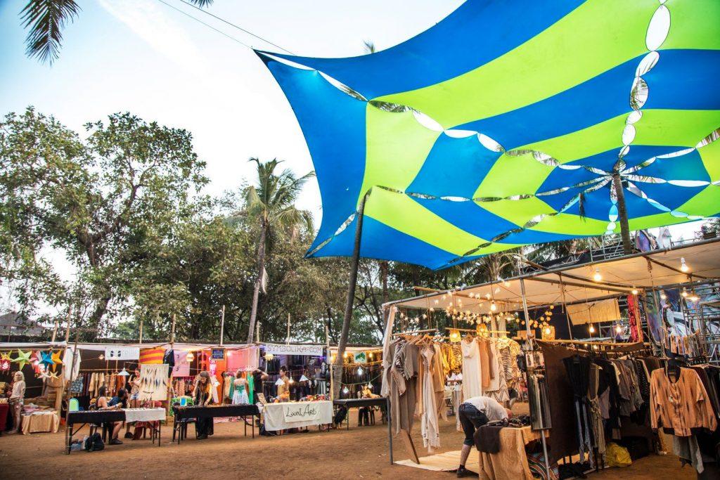 Goa Collective Bazaar Stalls