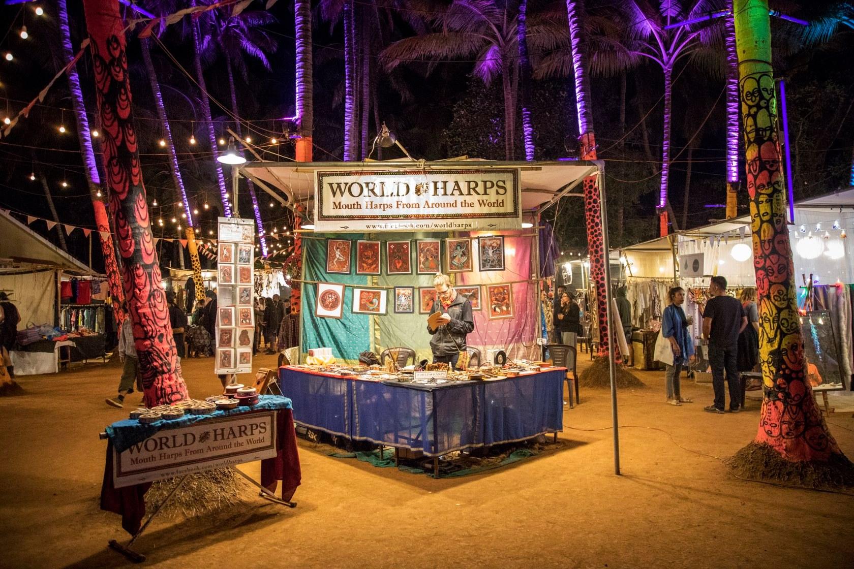 Goa Collective Bazaar World Harps