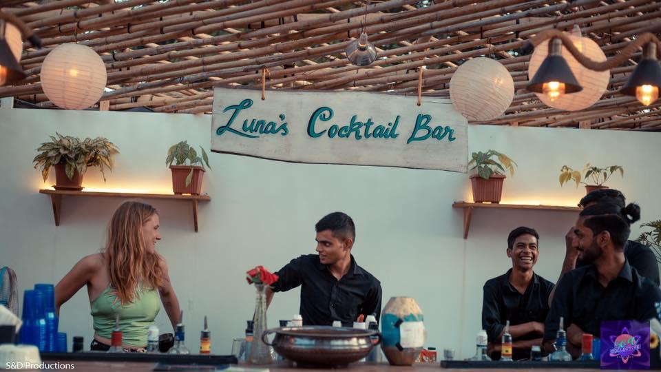 Goa Collective Bazaar Luna Cocktail Bar