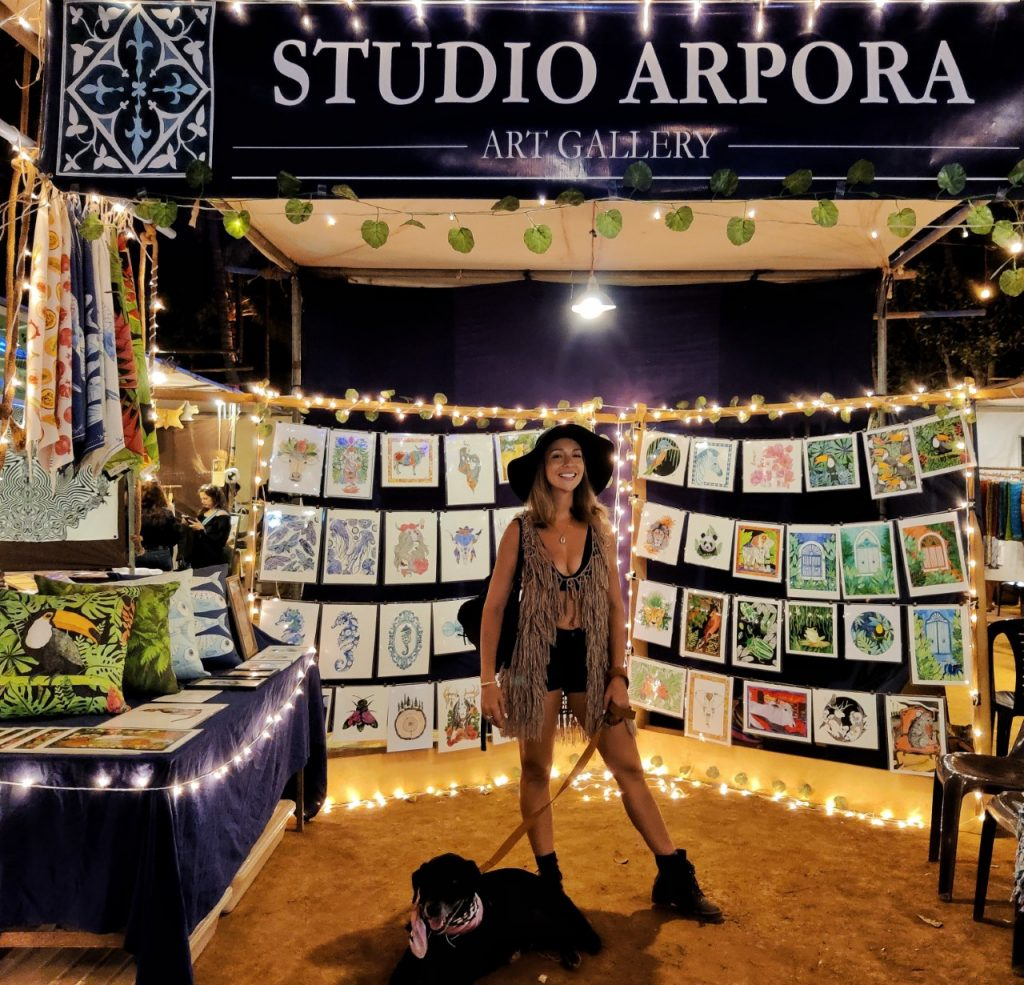 Goa Collective Bazaar Studio Arpora