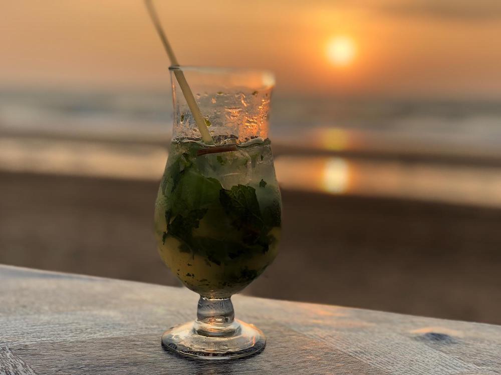 Aggies Cafe Beach Shack Mojito