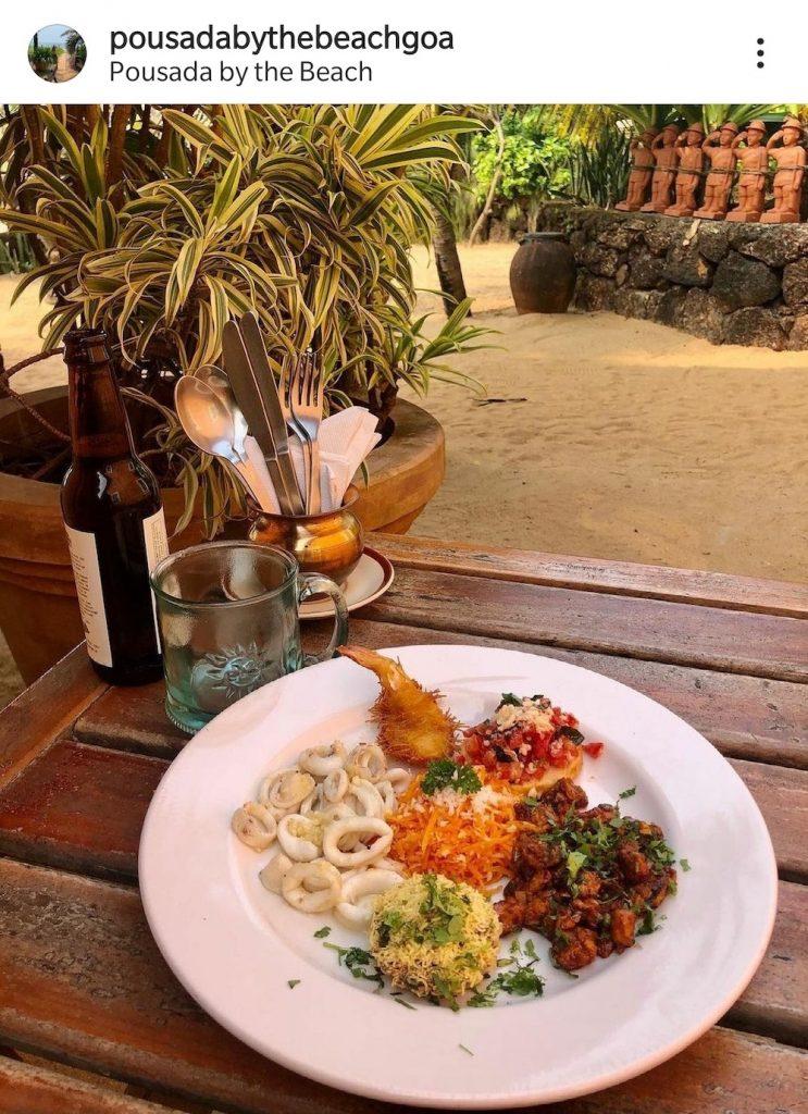 Pousada By The Beach, Food, Calangute