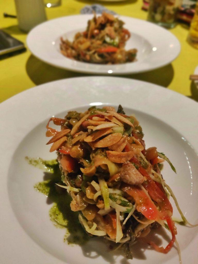 Tea Leaf Salad Zwe Calangute