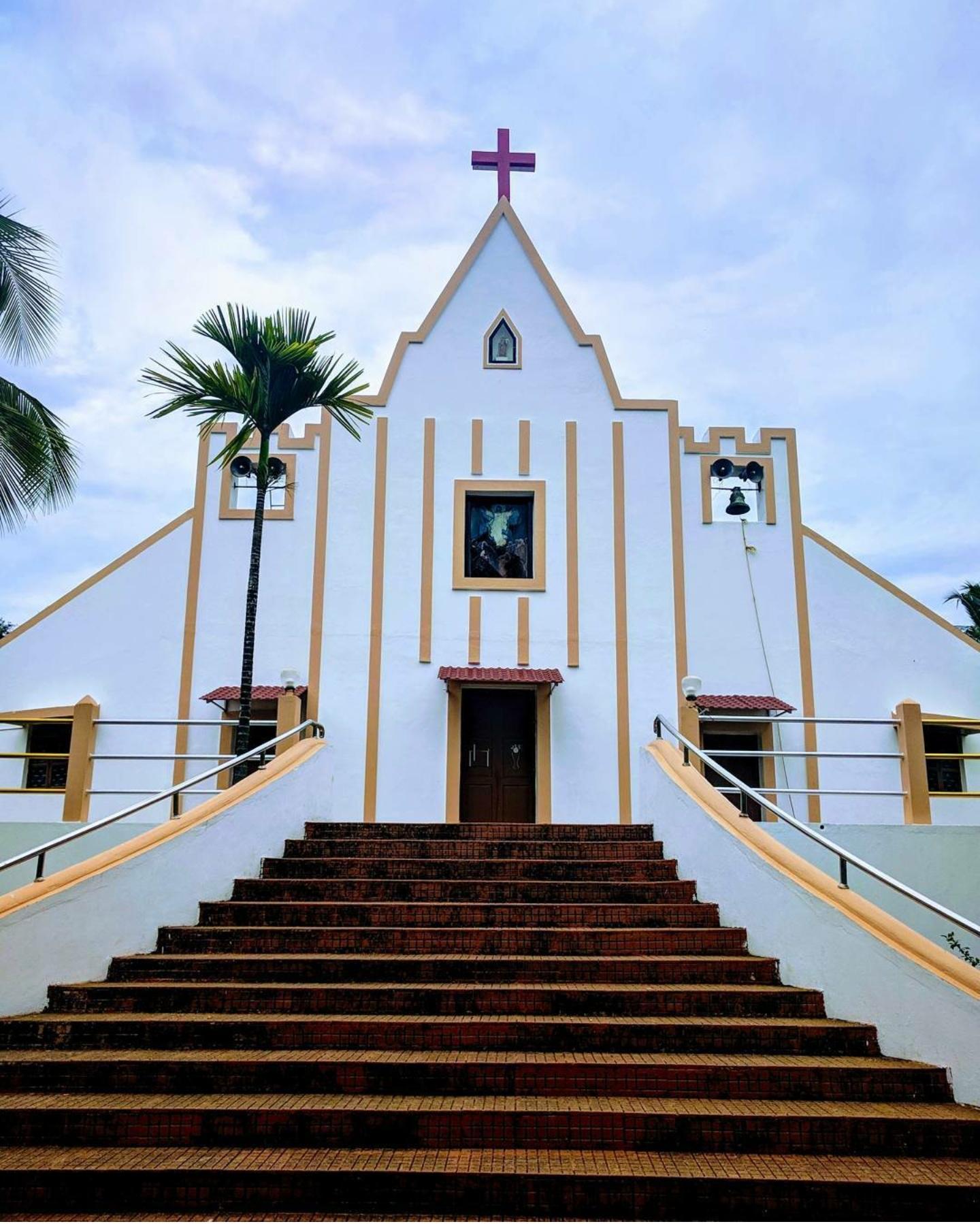 Galgibaga Church, Goa, India