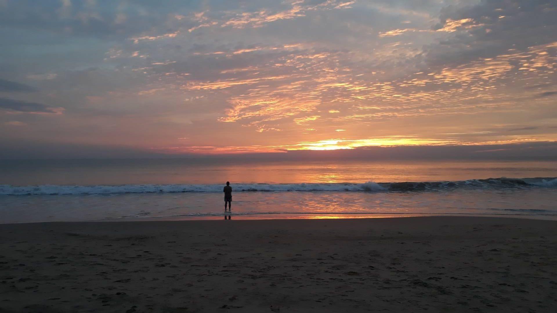 Sunset, Galgibaga Beach, Goa, India