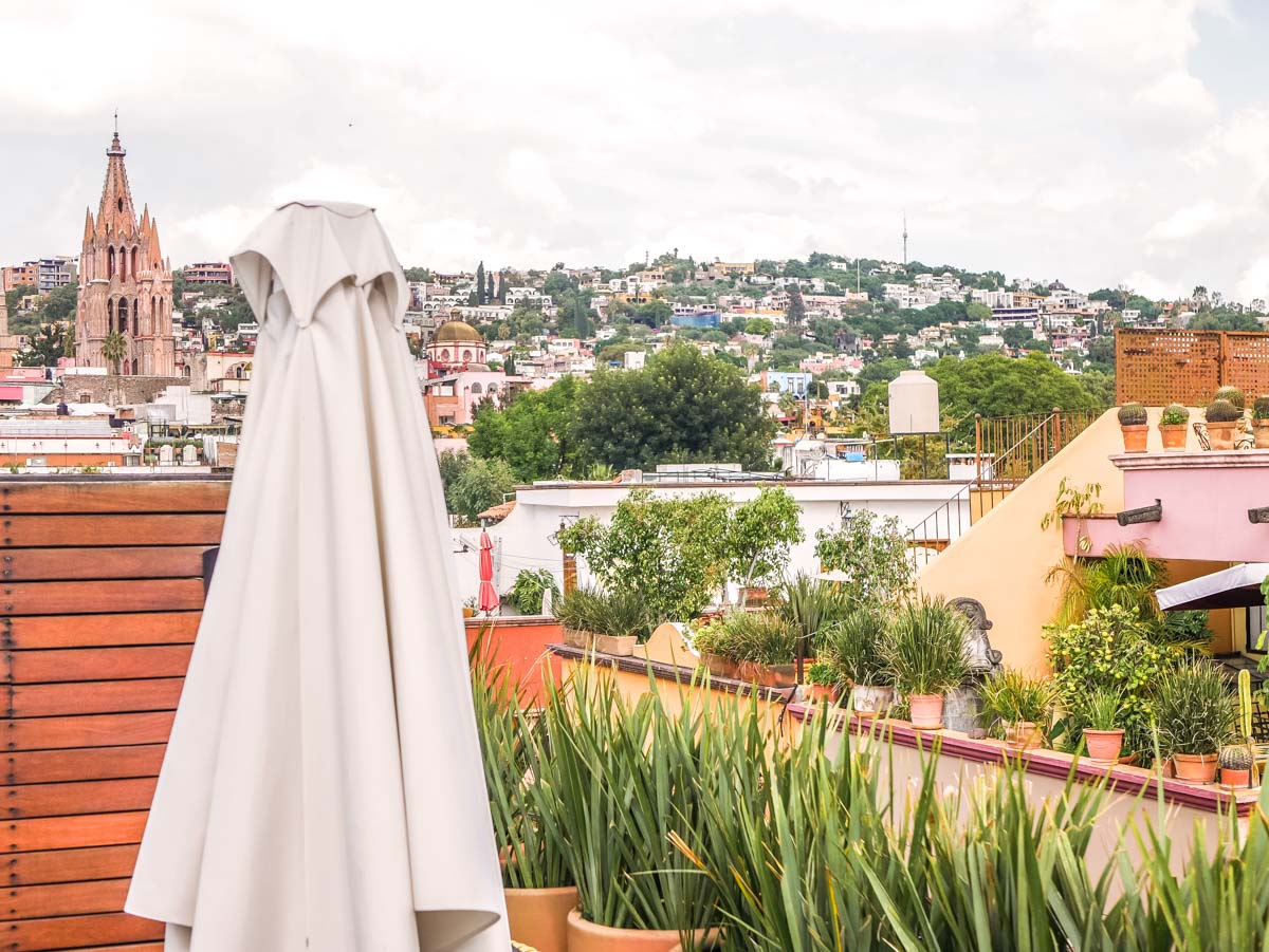 View from Dos Casa, San Miguel Allende, Mexico