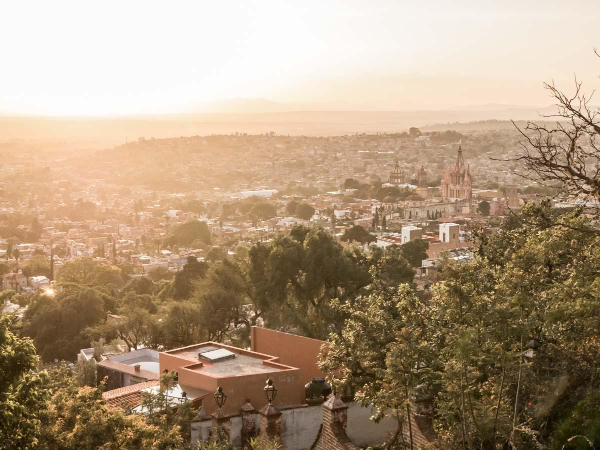 View of San Miguel Allende from El Mirador, Mexico