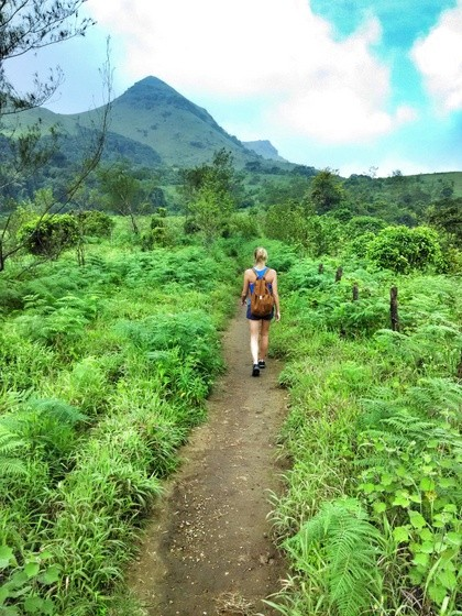 backpacking coorg Hiking Thadiyandamol