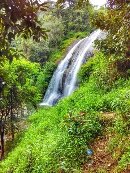 backpacking Coorg secret waterfall cheladara
