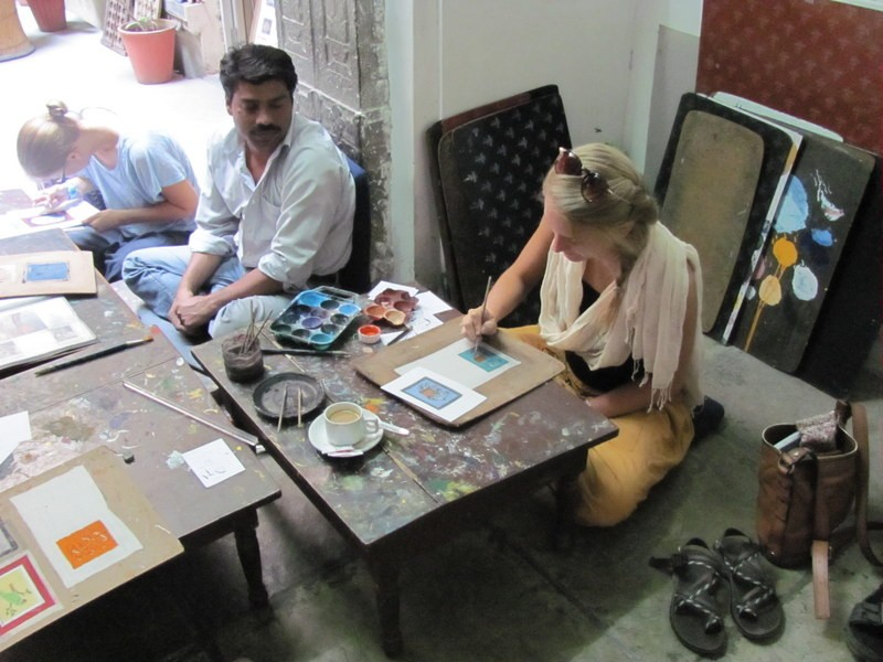 art class, udaipur, india travel bucket list