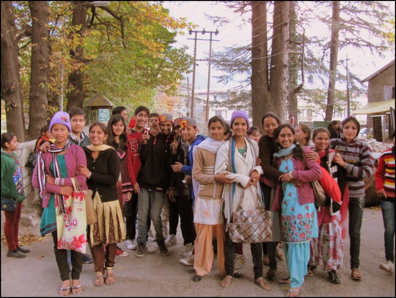 manali india himalayas hippie