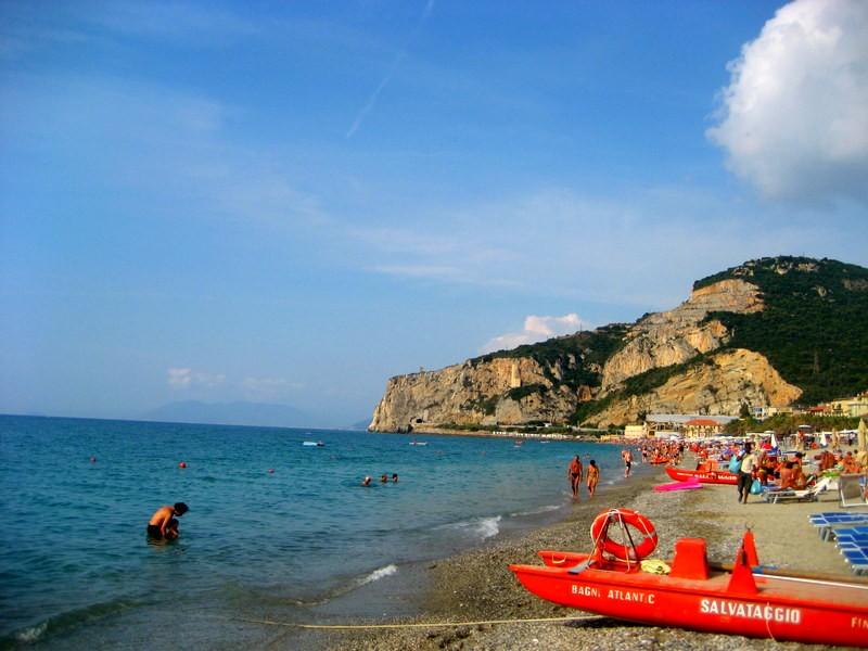 finale ligure, castle, italy, beach, coast, italian riviera