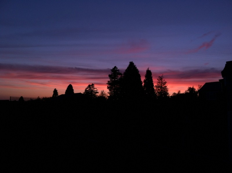 sunset tonbridge wells