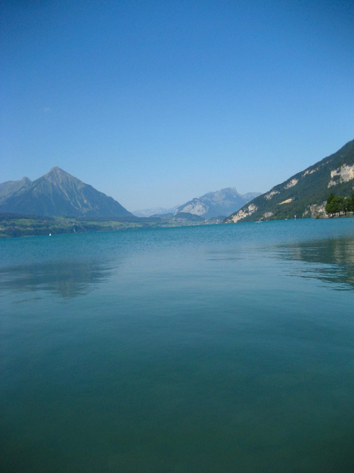 is interlaken too touristy, interlaken, switzerland, lakes, hang gliding, canyoning