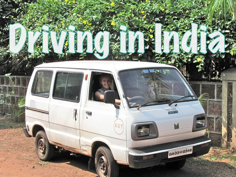 driving in india