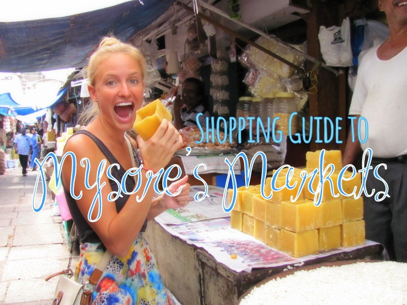 guide to shopping in mysore