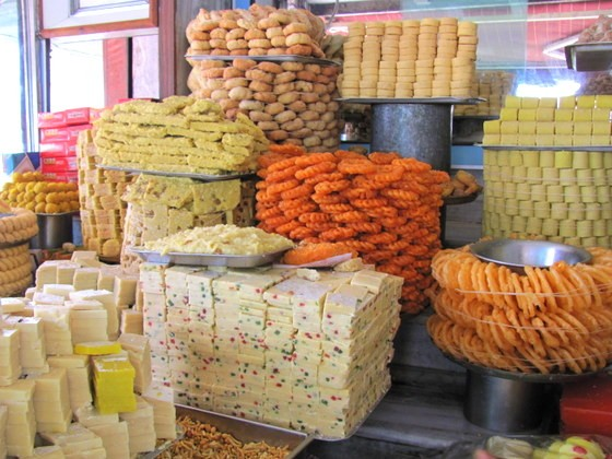 guide to south indian food indian sweets