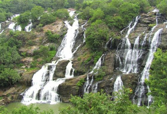 shivanasamudra waterfalls