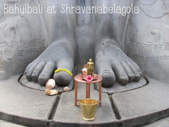 Bahubali at Shravanabelagola