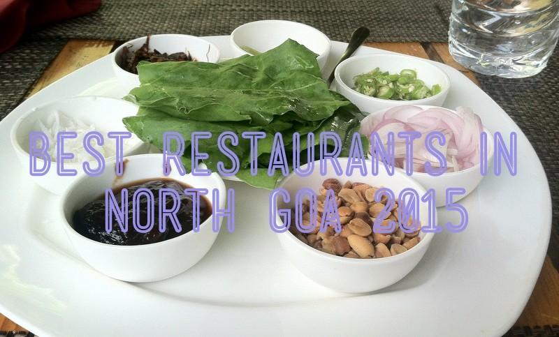 best restaurants north goa 2015