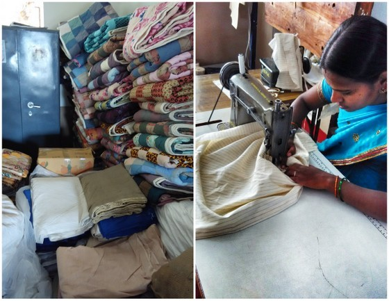 Tailoring Clothes in India with Khaddi