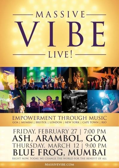 MVL Poster massive vibe live goa india