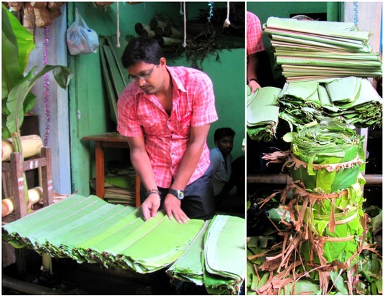 guide to south indian food banana leaf india mysore