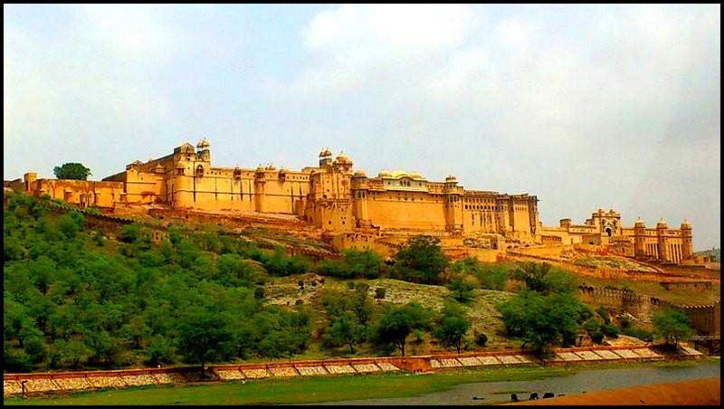 jaipur pink city, amber fort