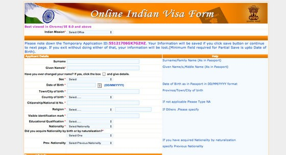 Step By Step How To Apply For Indian Tourist Visa From Usa Hippie In Heels