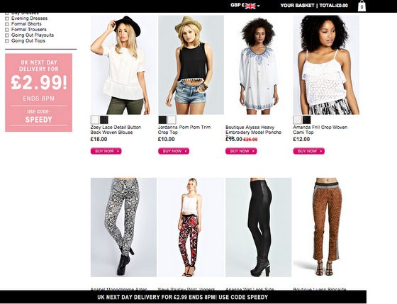 boohoo travel backpacking clothes blogger shop