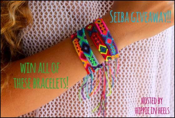 bracelet giveaway seiba