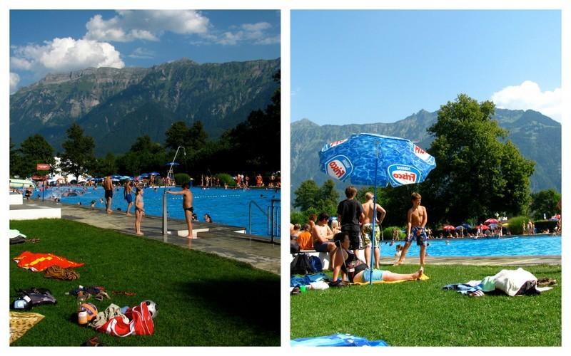 is interlaken too touristy, switzerland, interlaken, lakes, outdoor adventure, hang gliding, canyoning, pool