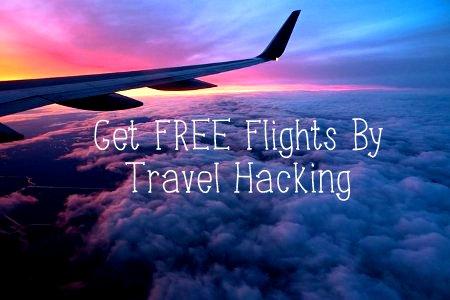 get free flights travel hacking bryce