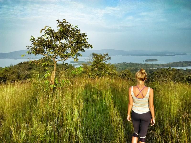 views near jog falls