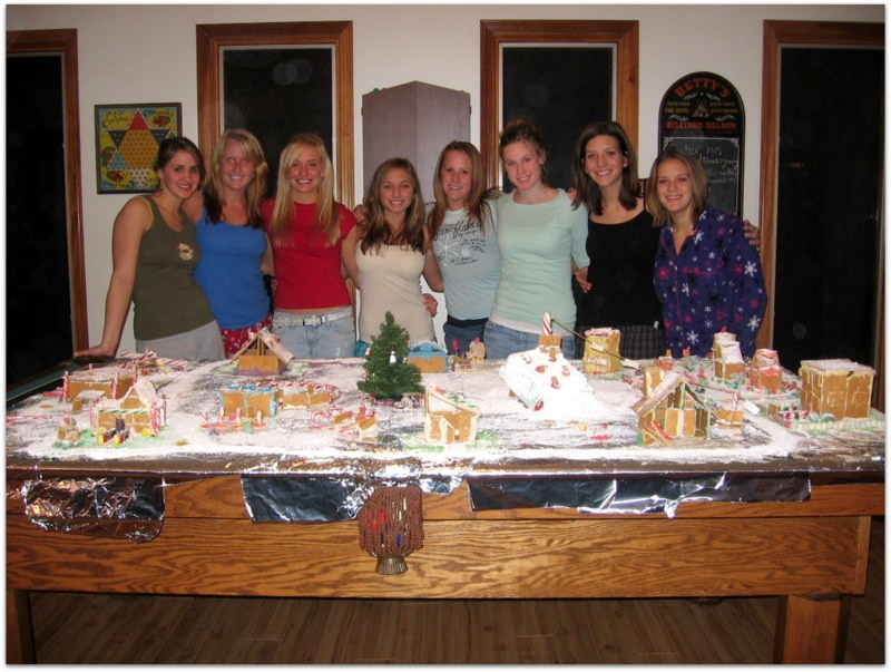I miss these kinds of get togethers... throw back to one of our Christmas Extravaganzas